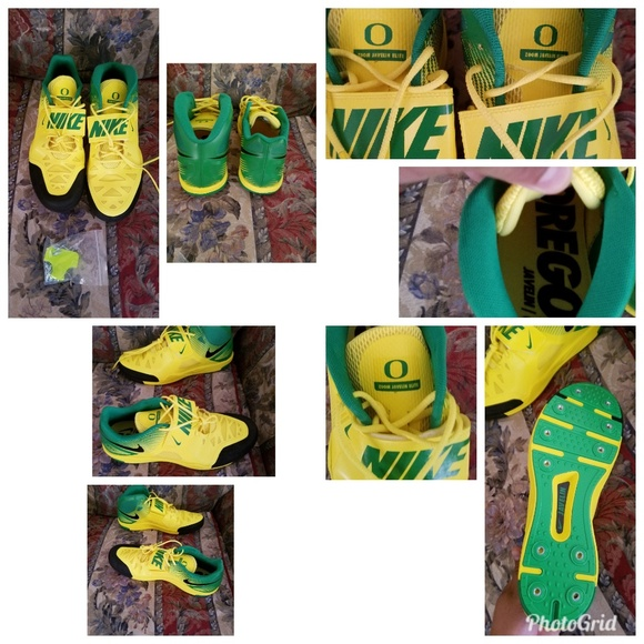cbaf8dc16faa Nike Shoes | Rare Limited Oregon Ducks Zoom Javelin Elite | Poshmark